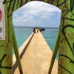 graffiti doorway caribbean ocean crashboats amazing
