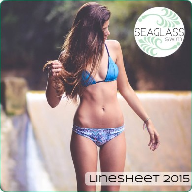 Seaglass Swimwear Linesheet 2015 - Available Now!
