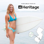 Heritage surf and sport seaglass swimwear bikinis