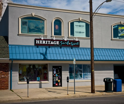 heritage surf shop ocean city new jersey