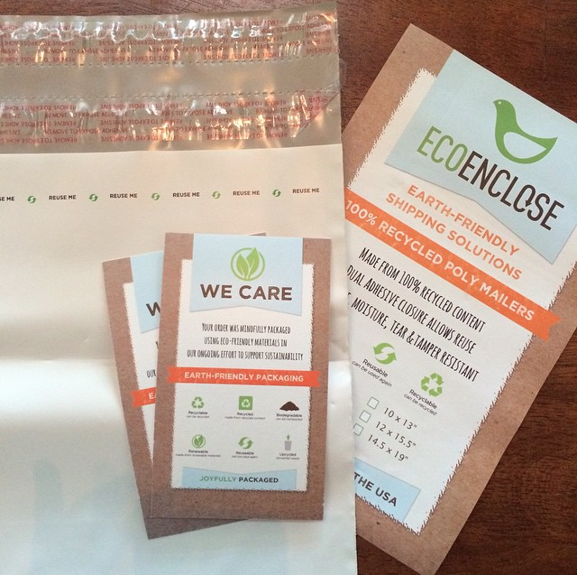 ecoenclose recycled poly mailers